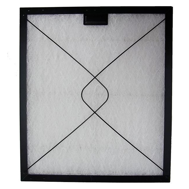 コスモフィルター 深型レンジフード 金網2面 差し込みタイプ用 取り付け枠・フィルターセット 34.8×37.2cm