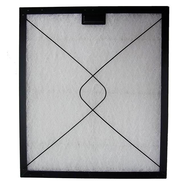 コスモフィルター 深型レンジフード 金網2面 差し込みタイプ用 取り付け枠・フィルターセット 25.2×20.1cm