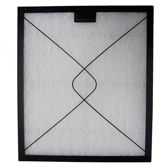 コスモフィルター 深型レンジフード 金網3面 差し込みタイプ用 取り付け枠・フィルターセット 34.8×29.7cm