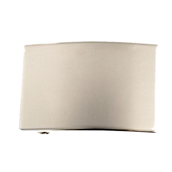 クラフト社 洋白バックル 4cm巾 鏡面仕上げ 31300