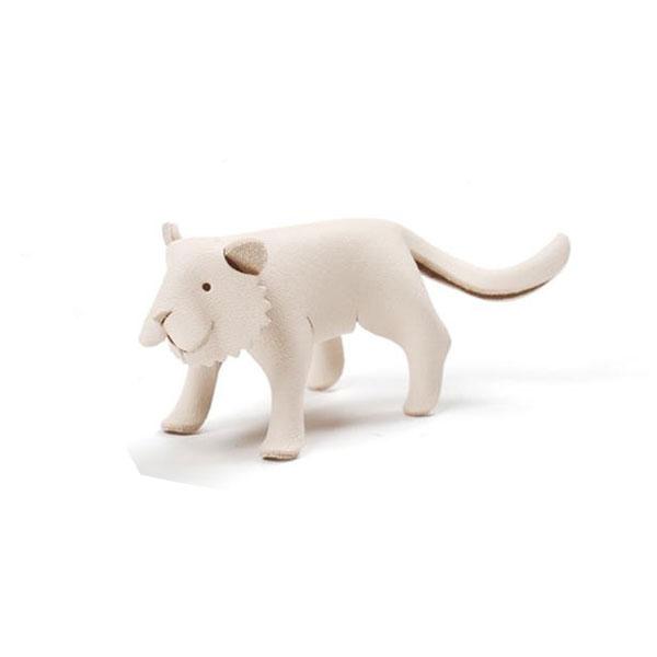クラフト社 道具がいらない 革でつくる動物 トラ 4397  2個セット