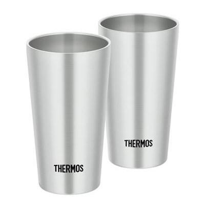 サーモス 真空断熱タンブラー ステンレス 300ml×2個セット JDI-300P