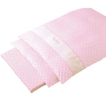 京都西川 ローズベビー寝具 掛けカバーリング CBA 9772342 ピンク