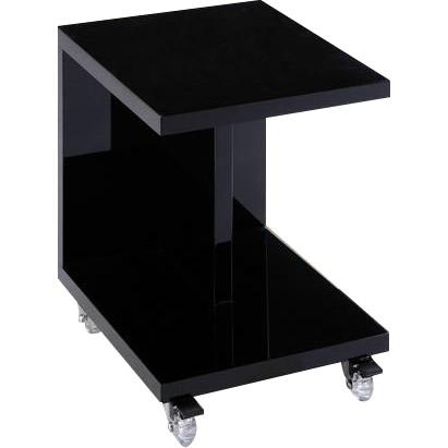 ナイトテーブル キャスター付き BK 33581