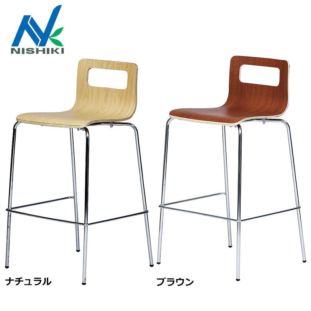 ニシキ工業 バーチェア ALS-705 ナチュラル