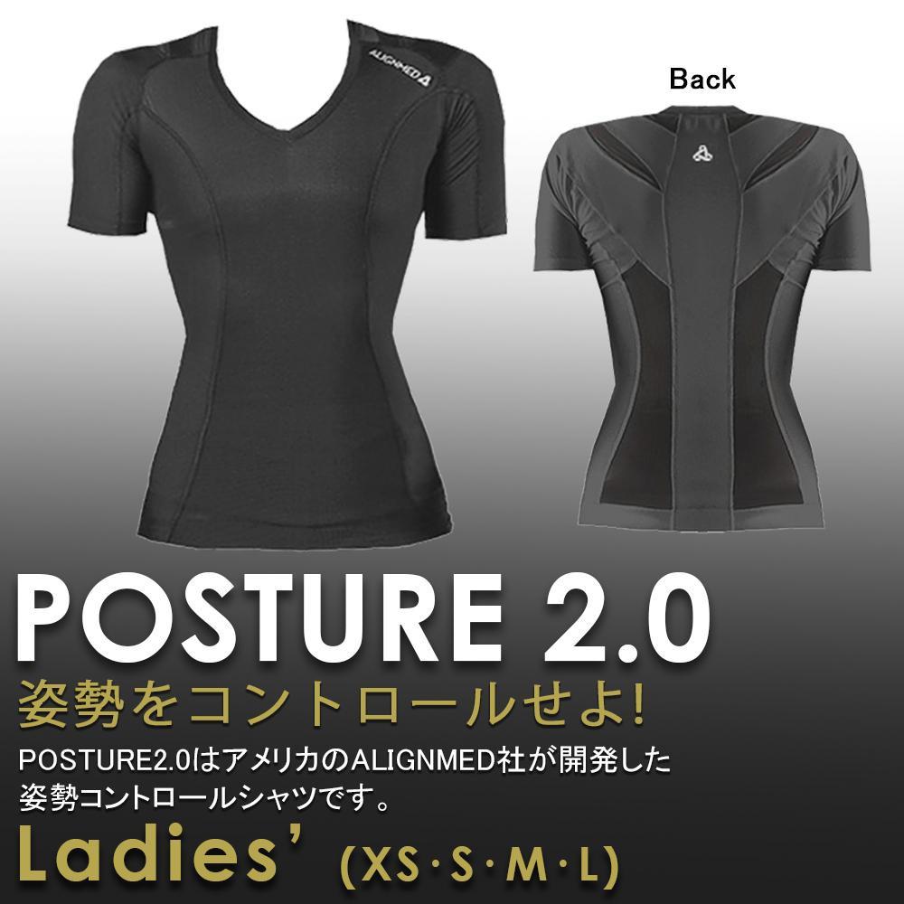 姿勢コントロールシャツ ポスチャーシャツ2.0 レディースPULL XS