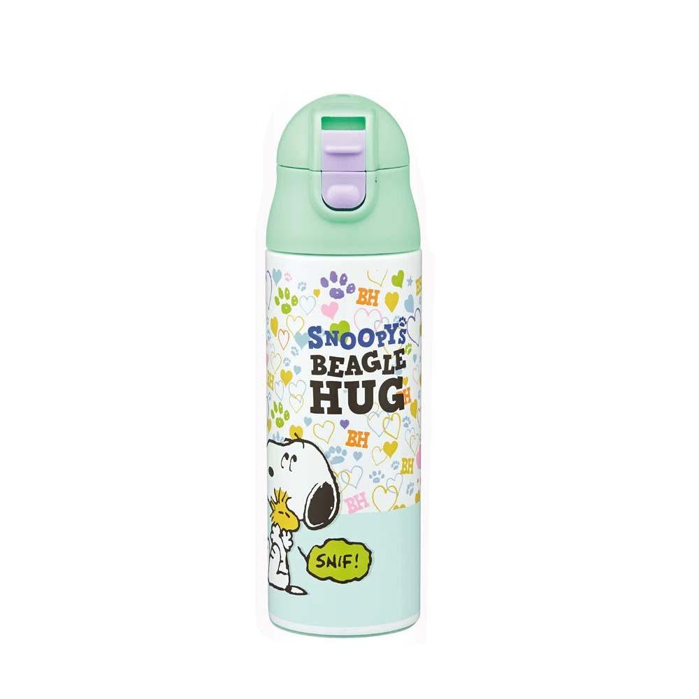pos.325090 超軽量調乳用ステンレスボトル スヌーピー(ビーグルハグ) SMIB5