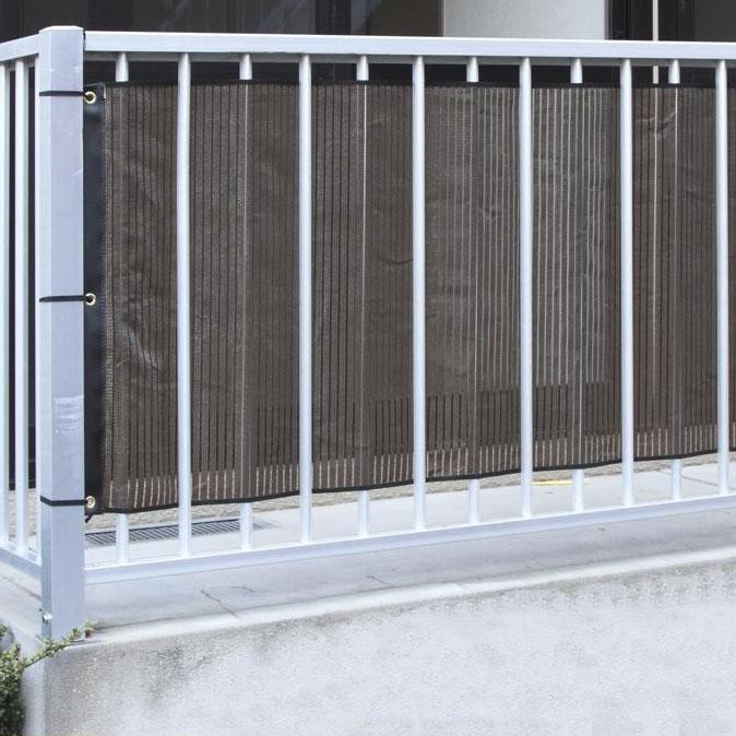 ベランダ用スクリーン 幅180×丈80cm