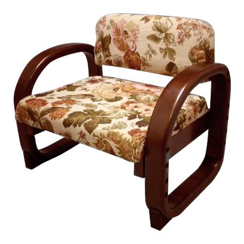やすらぎ座椅子 華 花柄 AJOZ-5546AK