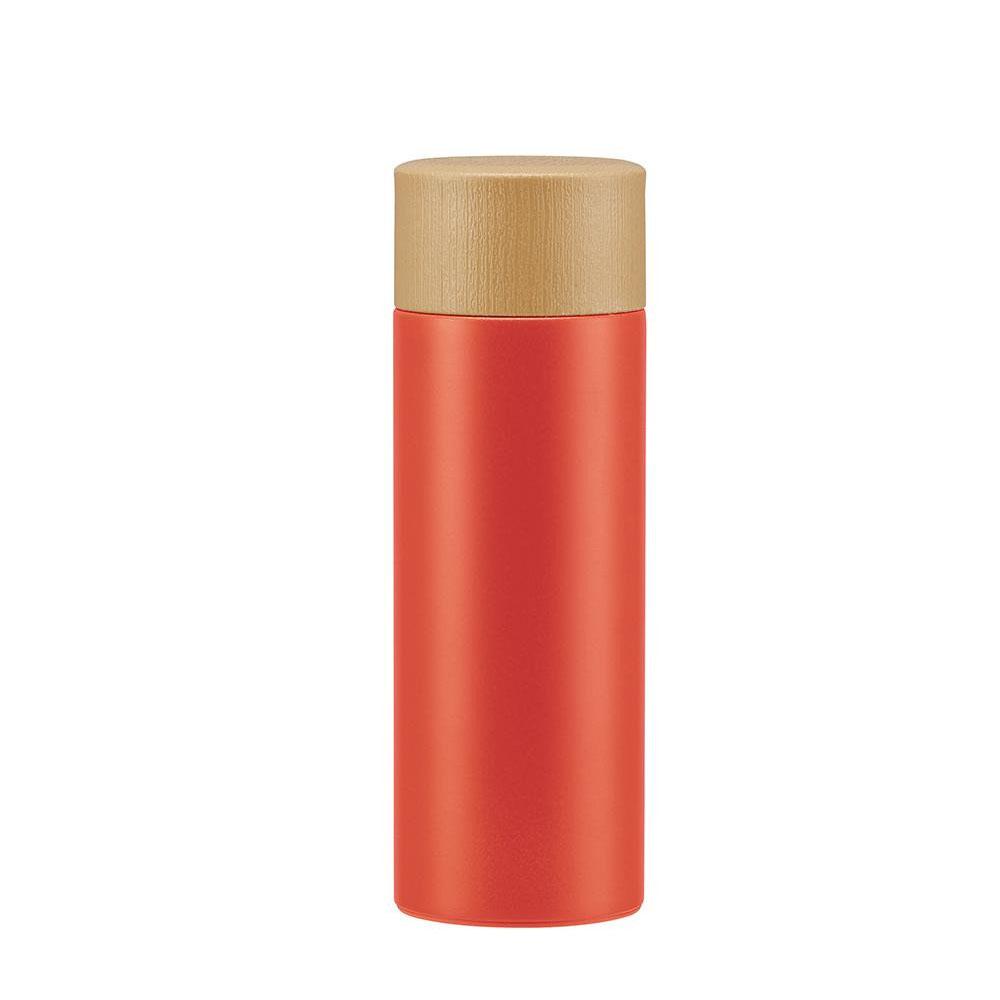 pos.362446  超軽量・コンパクトステンレスマグボトル レトロフレンチカラー(オレンジレッド) SMBC4BW