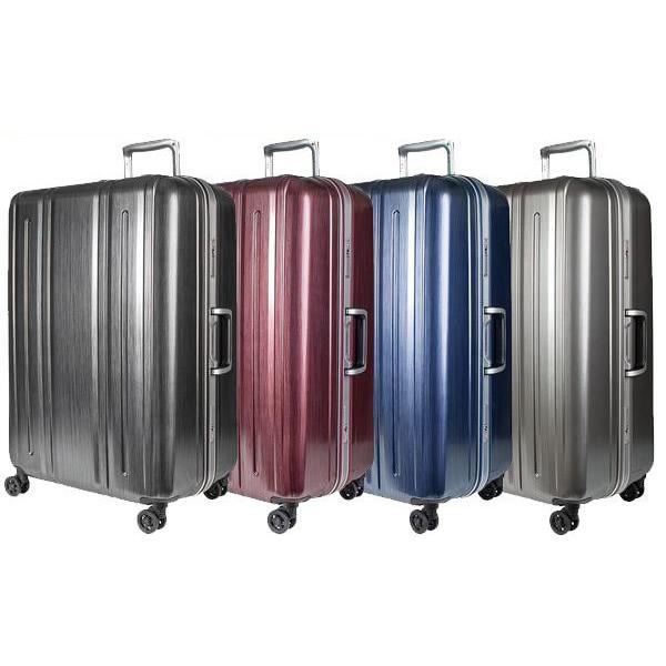 EVERWIN(エバウィン) 157センチ以内 超軽量設計 スーツケース BE LIGHT PREMIUM 68cm 94L 31229 ヘアラインブラック