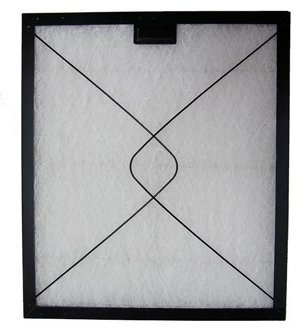 コスモフィルター 深型レンジフード 金網2面 差し込みタイプ用 取り付け枠・フィルターセット 32.7×29.7cm