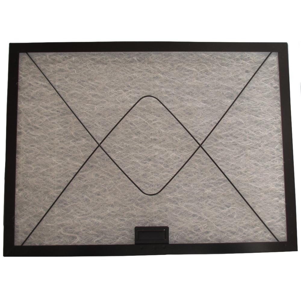 コスモフィルター 深型レンジフード 金網1面 差し込みタイプ用 取り付け枠・フィルターセット 29.7×40.0cm
