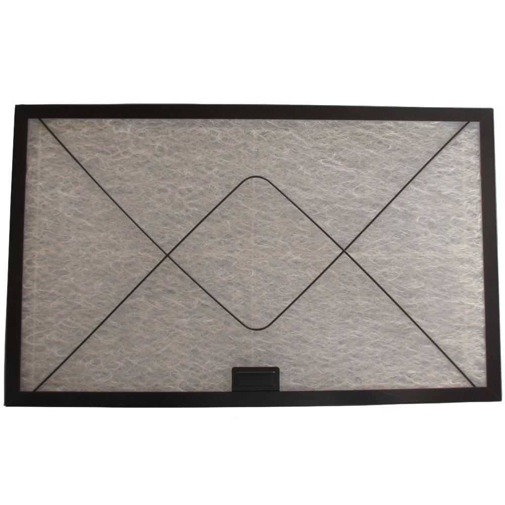 コスモフィルター 深型レンジフード 金網1面 差し込みタイプ用 取り付け枠・フィルターセット 29.7×48.5cm