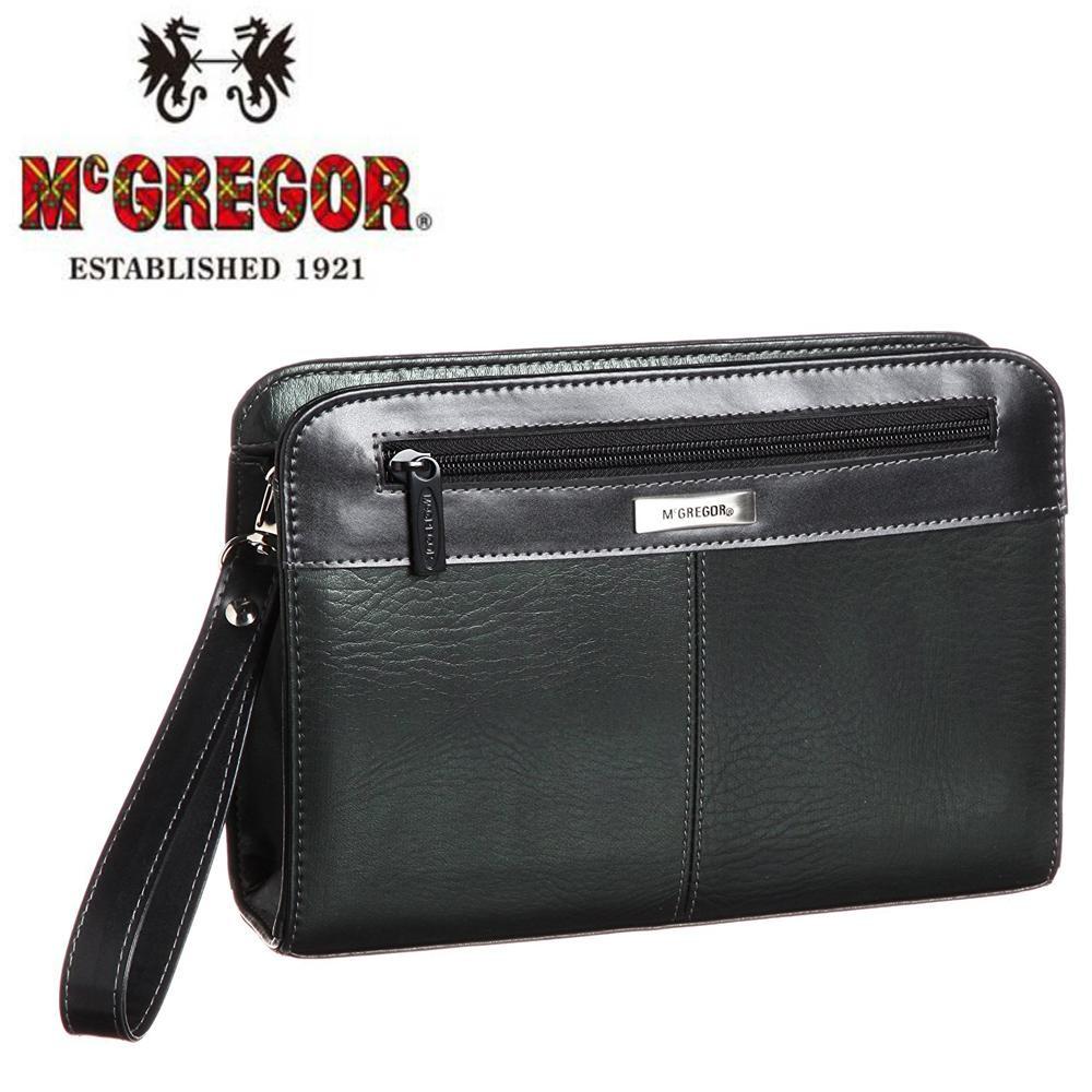 McGREGOR(マックレガー) ビジネス用 三角ポーチ ブラック 21856