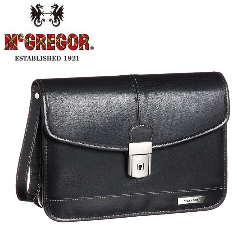 McGREGOR(マックレガー) ビジネス用 カブセポーチ ブラック 21964