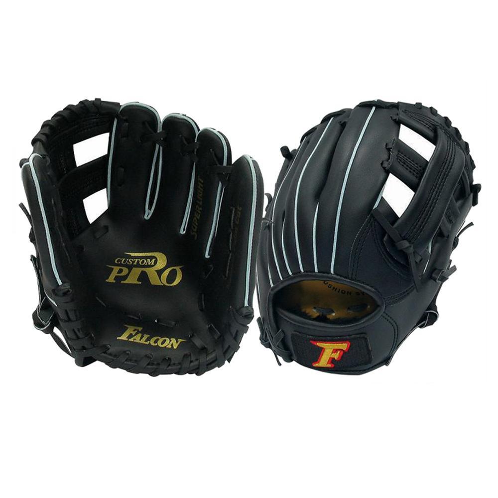 FALCON ファルコン 野球グラブ グローブ 軟式少年 オールラウンド用 Jr-Sサイズ ブラック 左用 FG-255