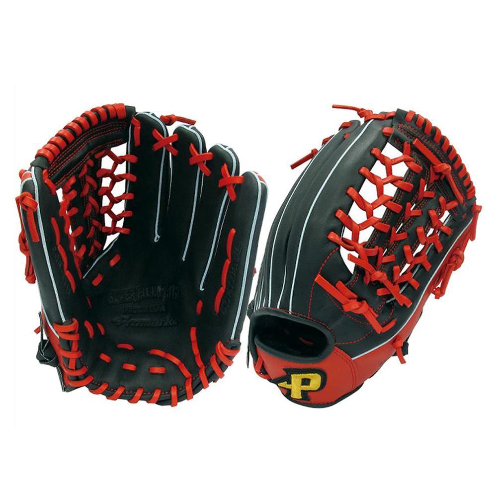 Promark プロマーク グラブ グローブ ソフトボール一般 オールラウンド用 Lサイズ ブラック×レッド PGS-3153