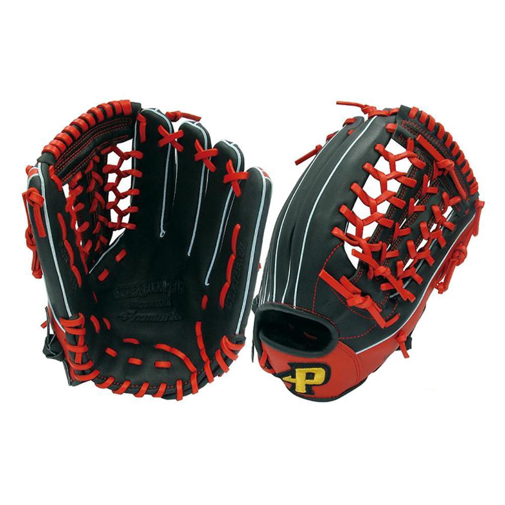Promark プロマーク グラブ グローブ ソフトボール一般 オールラウンド用 Lサイズ ブラック×レッド 左用 PGS-3155