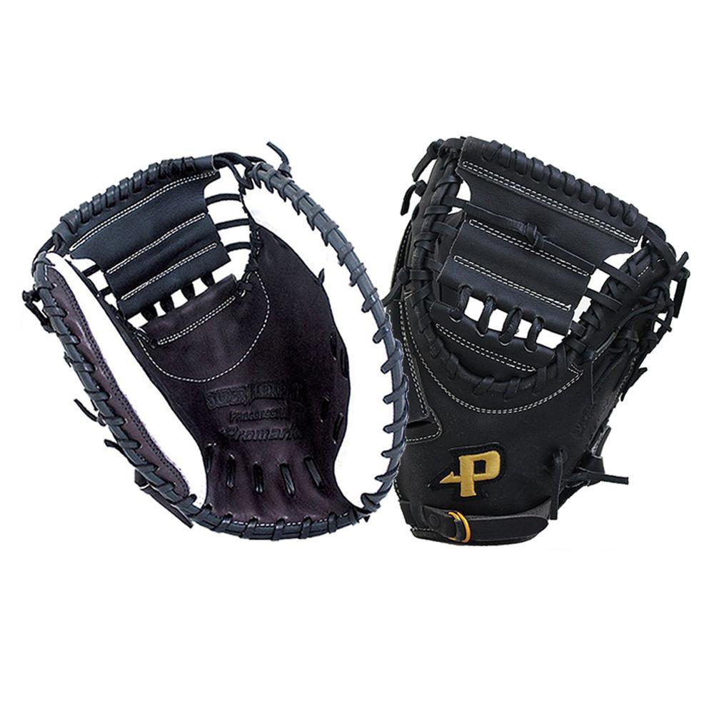 Promark プロマーク グラブ グローブ ソフトボール一般 捕手用 キャッチャーミット ブラック×ホワイト 左用 PCMS-4821WRH