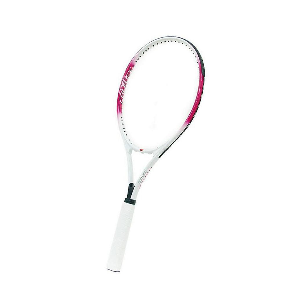 CALFLEX カルフレックス  硬式 一般用 テニスラケット 専用ケース付 ホワイト×ピンク CX-01