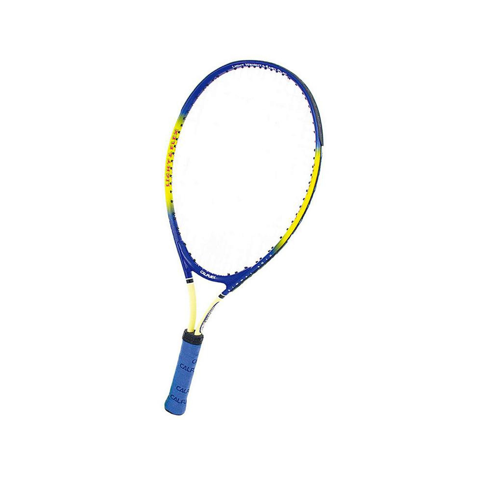 CALFLEX カルフレックス 硬式 キッズ用 テニスラケット 専用ケース付 イエロー×ブルー CAL-23-III