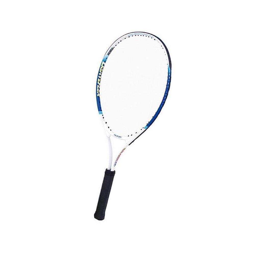 CALFLEX カルフレックス 硬式 ジュニア用 テニスラケット 専用ケース付 ホワイト×ブルー CAL-25-III