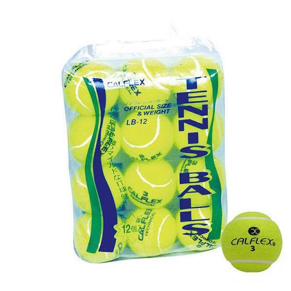 CALFLEX カルフレックス  一般用硬式テニスボール 12球入 LB-12