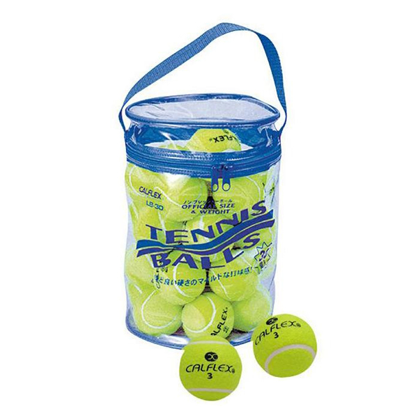 CALFLEX カルフレックス  一般用硬式テニスボール 30球入 LB-30