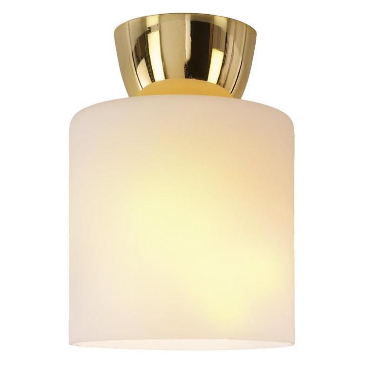 簡単取付!シンプル照明 ガラスシーリングライト 1灯 GEM-6912