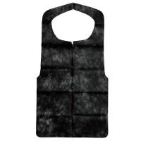 大黒工業 エプロン(A)-黒 (1枚毎折畳) 3082644 50枚入 5セット