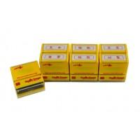 スマートスタンプ3号 横型 ビジネス事務6個セット 赤インク SYS-3002