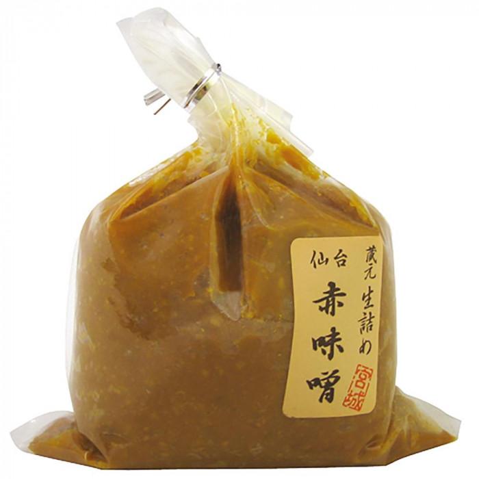 仙台 赤味噌 500g 6個セット 調味料 油