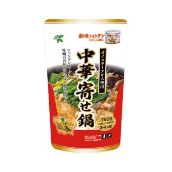 TOHO 桃宝食品 創味シャンタン中華寄せ鍋つゆ 750g×12個入り 食品 調味料 油
