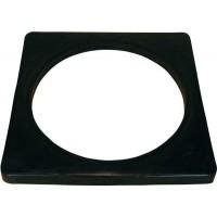 三甲 サンコー ゴム製コーンベット(黒)2kg 5個セット 8Y0073 ブラック