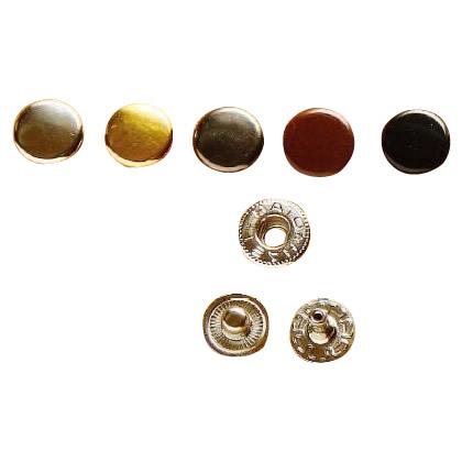 クラフト社 レザークラフト用 金具ホック 小 30個 1041 01・N(ニッケル)