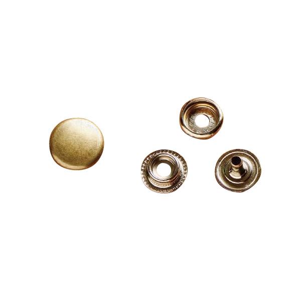 クラフト社 レザークラフト用 金具ジャンパードット 20個 中 St(真鍮) 1064-06