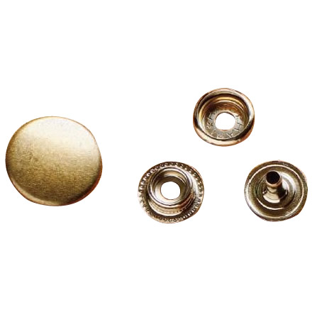 クラフト社 レザークラフト用 金具ジャンパードット 20個 大 St(真鍮) 1066-06