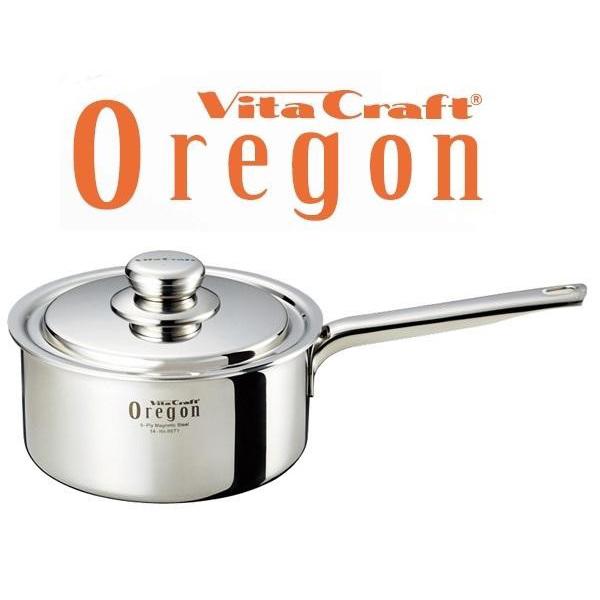 VitaCraft Oregon(ビタクラフト オレゴン) 片手ナベ 18cm 8671