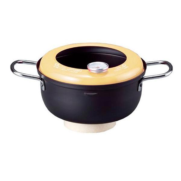 揚げようび IH対応温度計付天ぷら鍋18cm AM-9190