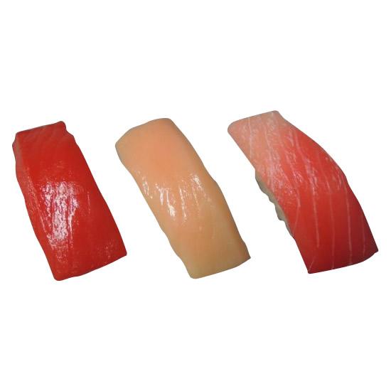 日本職人が作る  食品サンプル寿司マグネット まぐろ三昧 IP-149