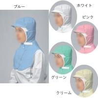 宇都宮製作 布製衛生キャップ QCキャップ QC-001(男女兼用) L ×5枚 ブルー