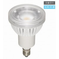 YAZAWA(ヤザワ) 調光対応光漏れタイプハロゲン形LED電球(口金E11・広角タイプ)LDR4LWE11D