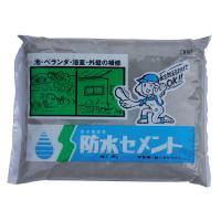防水セメント 灰色・4kg 6袋セット