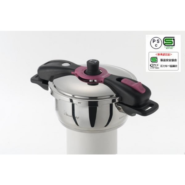ワンダーシェフ 魔法のクイック料理 両手圧力鍋 3.7L AQDB37 660046