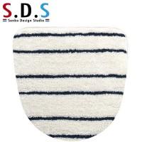 SENKO(センコー) S.D.S マリンライン フタカバー(温水洗浄・暖房便座用) アイボリー