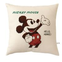 オリムパス 6032 ししゅうキット クッション ディズニー ミッキーマウス