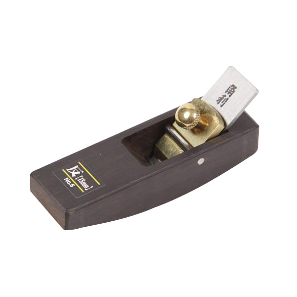 クラフト社 レザークラフト用 溝切り・革漉き 黒豆カンナ 反 18mm刃 8683-02
