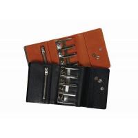 クラフト社 レザークラフト用半製品 財布 セパレートコインパース 11×7.5cm 4580 02・黒