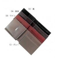 クラフト社 レザークラフト用半製品 財布 カードケース付札入 9.5×21.5cm 4538 02・黒